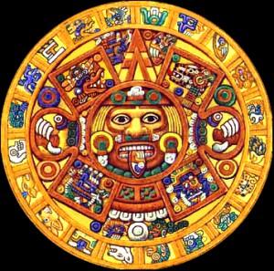 Aztec Calendar Wheel