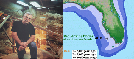 James M Adovasio: The First Floridians: Early Humans on the Submerged Gulf Coast of Florida